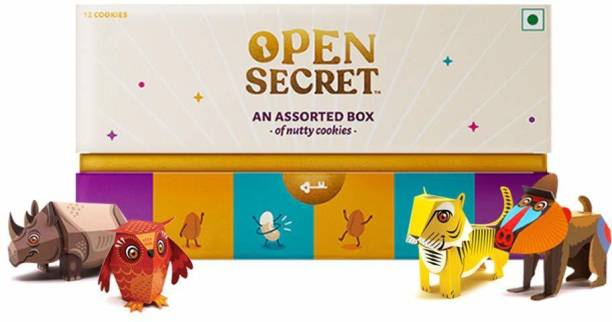 OPEN SECRET Gift Hamper | | No Added Maida, Chocolate Cookies, Gift for Kids | Gift for Kids Combo