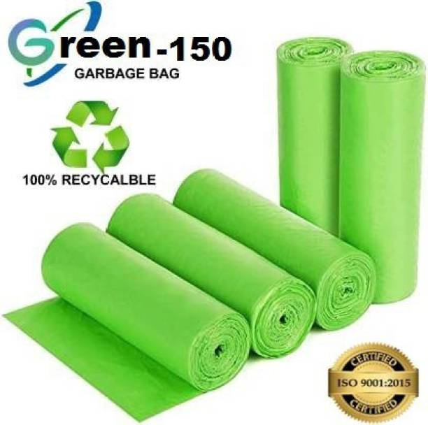 Personality plus Biodegradable Garbage Bags 19X21 inches ( pack of 5, 150 pieces ) Medium 15 L Garbage Bag