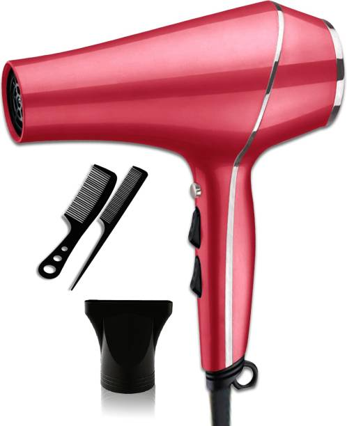 Make Ur Wish Pink Hair Dryer With Over Heat Protection Professional Stylish Hair Dryer With Over Heat Protection Hot And Cold Dryer Hair Dryer
