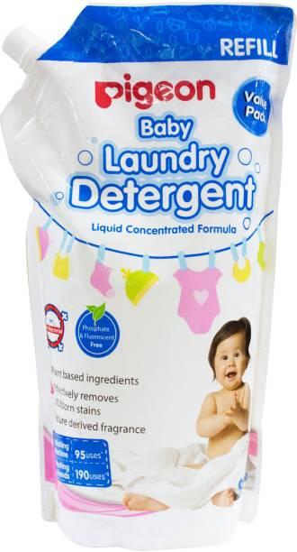 Pigeon BABY LIQUID LAUNDARY DETERGENT 950 ML REFILL Lime Liquid Detergent