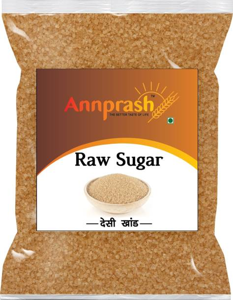 ANNPRASH Premium Quality Desi khand /Raw Sugar - 500gm ( Pack of 1) Sugar