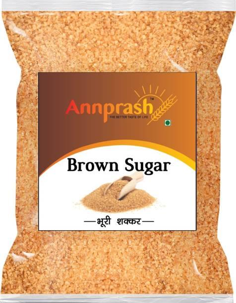 ANNPRASH Premium Quality Brown Sugar - 500gm (Pack of 1) Sugar