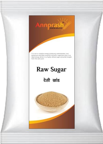 ANNPRASH Premium Quality Desi khand/Raw Sugar - 5Kg (Packing) Sugar