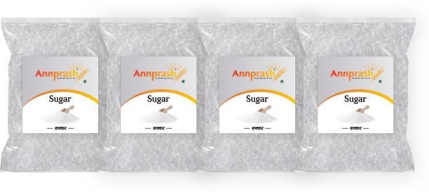 ANNPRASH Premium Quality White Sugar- 500gm (Pack of 4) Sugar