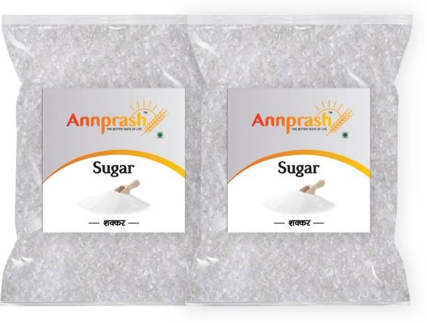 ANNPRASH Premium Quality White Sugar- 500gm (Pack of 2) Sugar