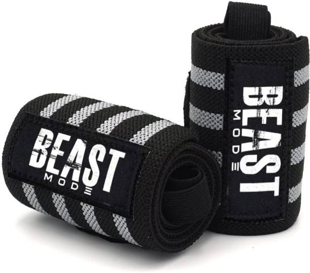 STEIGEN FITNESS WRIST WRAPS GLOVES FOR GYM WRIST BAND SUPPORT FOR HEAVY WORKOUT Gym & Fitness Gloves