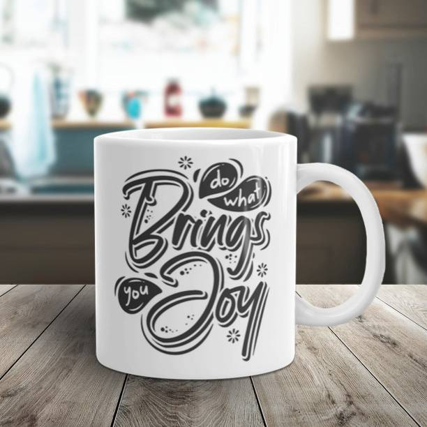 Flipkart SmartBuy BRINGS JOY Ceramic Coffee Mug