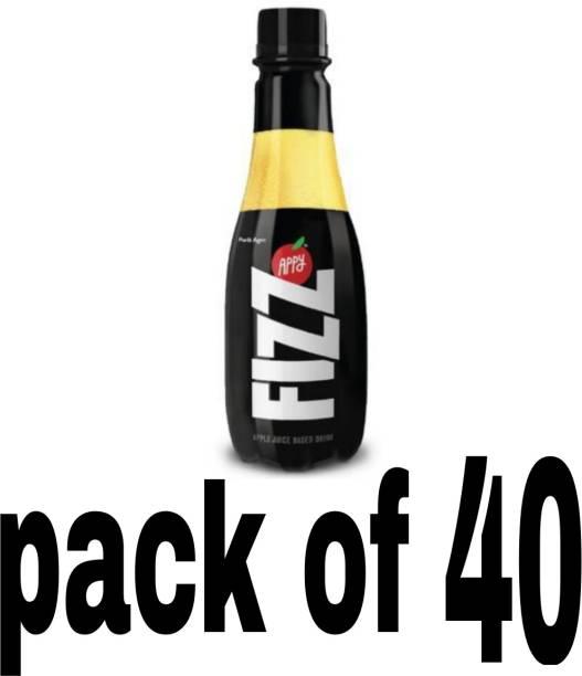PARLE Appy fizz 160 ml × 40 Plastic Bottle