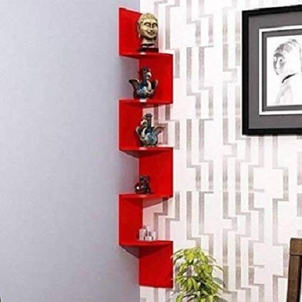 Ruby Perl Engineered Wood Open Book Shelf