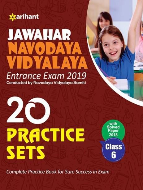20 Practice Class 6th Jawahar Navodaya Vidyalaya 2019