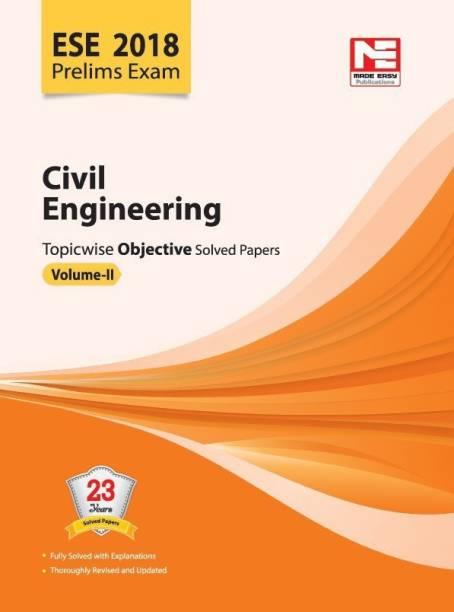 ESE 2018: Preliminary Exam.: Civil Engineering Objective Paper - Volume II