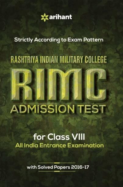 Rashtriya Indian Military College Rimc Admission Test for Class VIII