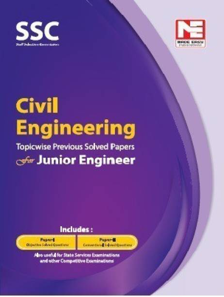Ssc : Je Civil Engineering Previous Year Solved Papers
