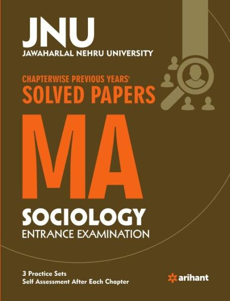 Jnu - Chapterwise Previous Years' Solved Papers Ma Sociology Entrance Examination