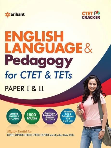 Ctet & Tets English Language & Pedagogy Paper I & II