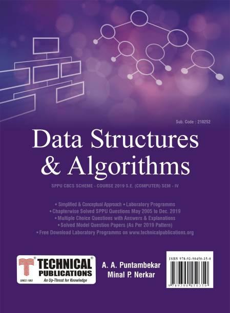 Data Structures & Algorithms for SPPU 19 Course (SE - IV - Comp. - 210252)