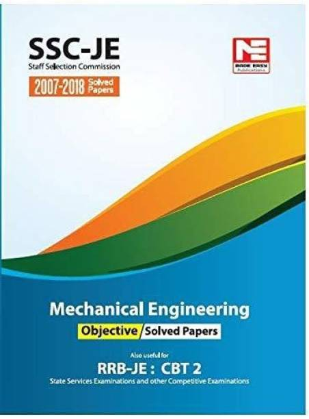 Ssc (Rrb-Je) Mechanical Engineering Objective Solved Papers