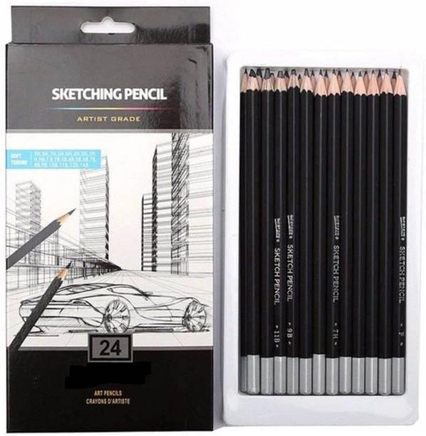 Raj deals art creation round Shaped Color Pencils