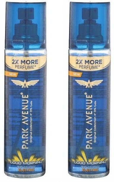 PARK AVENUE Good Morning Electric Deodorant Spray  -  For Men & Women