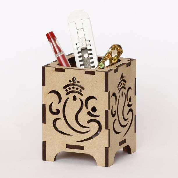 CAPIO ART 1 Compartments MDF WOOD Pen Stand