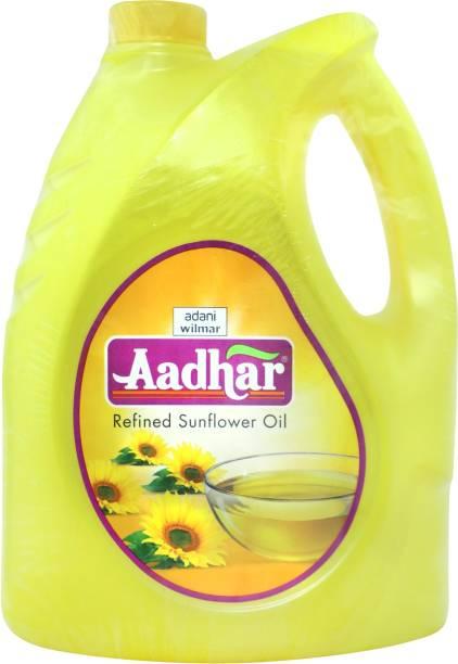 Aadhar Sunflower Oil Can