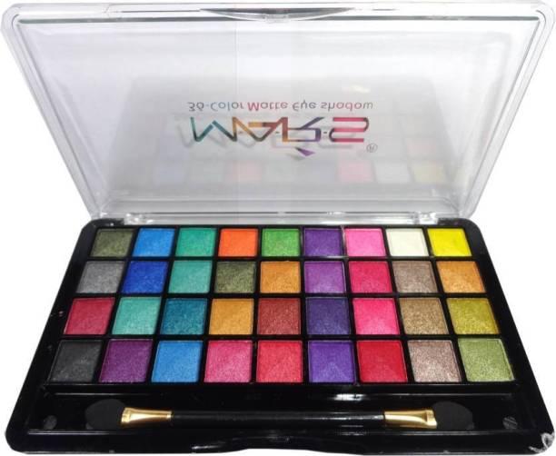 MARS Velvet Creamy Eyeshadow palette 30 g (Valvet Glamour) 30 g