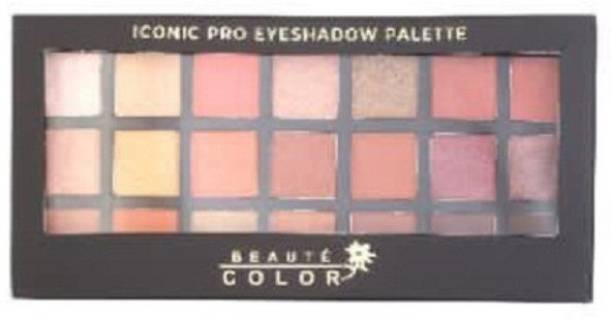 BEAUTE COLOR Eye Shadow Palette 21 g