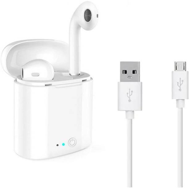 CASADOMANI i7s TWS Wireless Earphones With Charging Box Bluetooth Headset