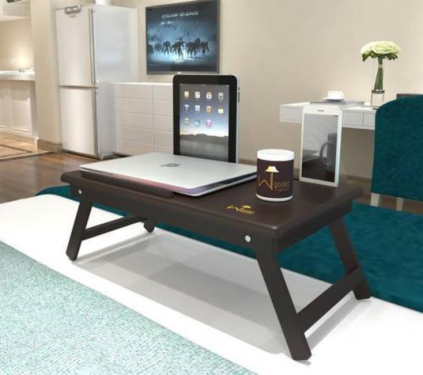 WoodenTwist Laptop Table Wood Portable Laptop Table