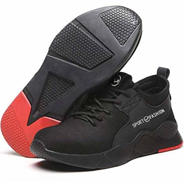 BERKINS BER-SPORT FASHION Steel Toe Synthetic Leather Safety Shoe