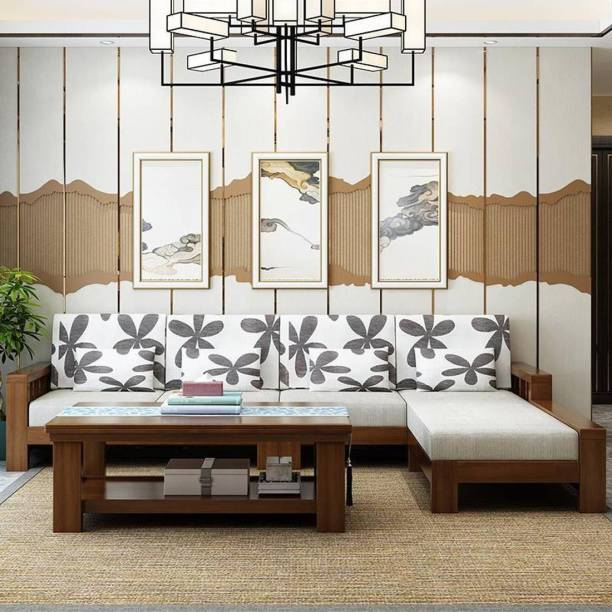 Ananya furniture Premium Sofa Set Fabric 5 Seater Sofa Fabric 5 Seater  Sofa