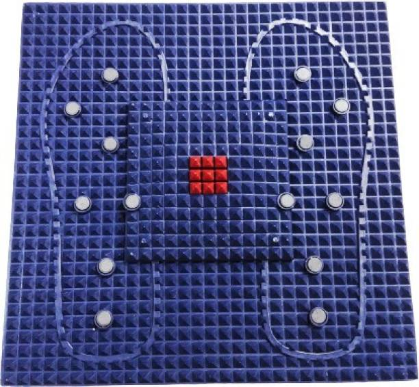 Skylight Acupressure Reflexology Magnetic Pyramidal Therapy Energy For Pain Relief Mat NA mm Accupressure Mat