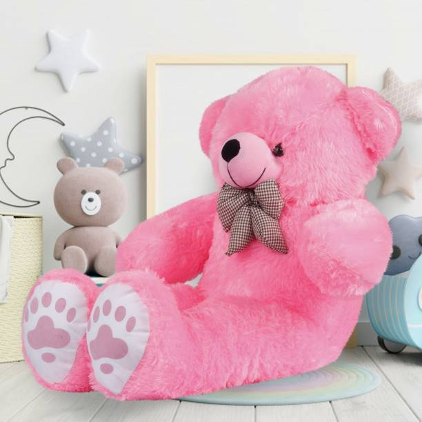Lovers Gift American Style Pink Teddy Bear 3 Ft  - 36 inch