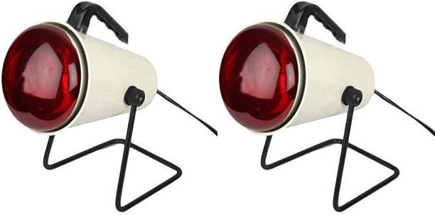 MEDSOR IMPEX IR RED   INFRARED LAMP   Heat Therapy Infrared Pain Relief Lamp (PACK OF 2) Table Lamp