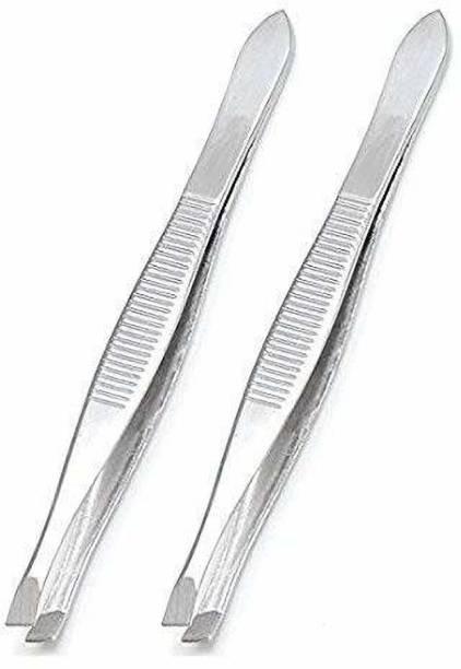 Top Select Straight and Plucker Tweezer (5-inch) - Set of 2
