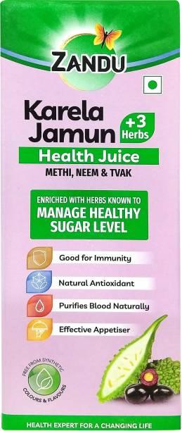Zandu Karela Jamun + 3 Herbs Health Juice