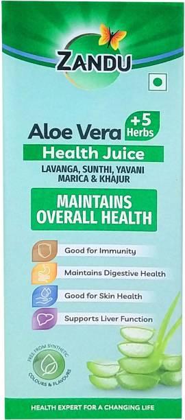 Zandu Aloe Vera + 5 Herbs Health Juice