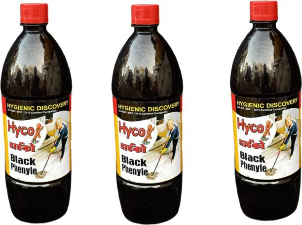 Hyco Black Phenyle 1ltr (Pack of 3) Floral