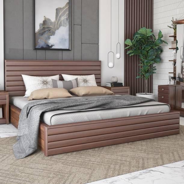 Durian Franklin Queen Bed Engineered Wood Queen Hydraulic Bed