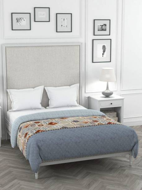 PORTICO NEW YORK 310 TC Cotton King Printed Bedsheet
