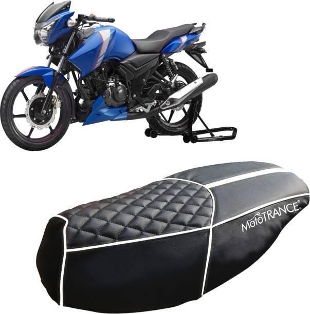 MOTOTRANCE MTSC36225-1 Single Bike Seat Cover For TVS Apache RTR 160