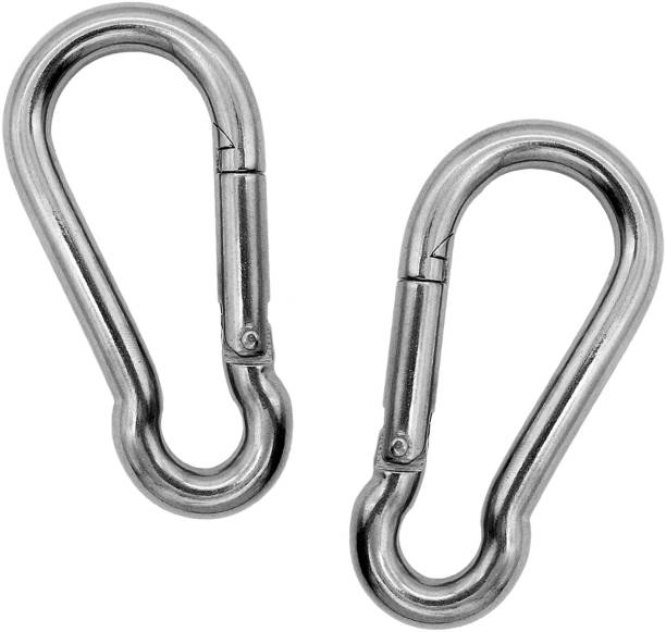 Joyfit Carabiner Clip Pair For Cable Machines, Resistance Tubes -Spring Snap Hook Premium Locking Carabiner