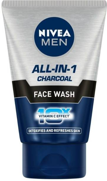 NIVEA All-In-1 Charcoal Face Wash