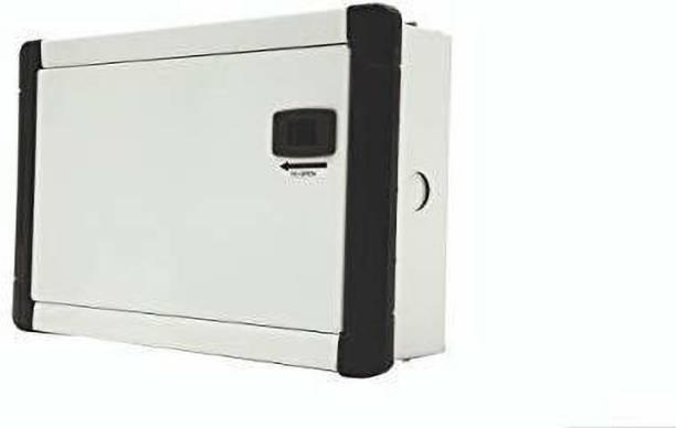 Suntech Industries 10 Way SPN Metal Double Door Distribution Board MCB Box Distribution Board