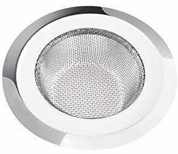 QBK Stainless Steel Sink Strainer, Kitchen Drain Basin Basket Filter Stopper, Strainer Strainer