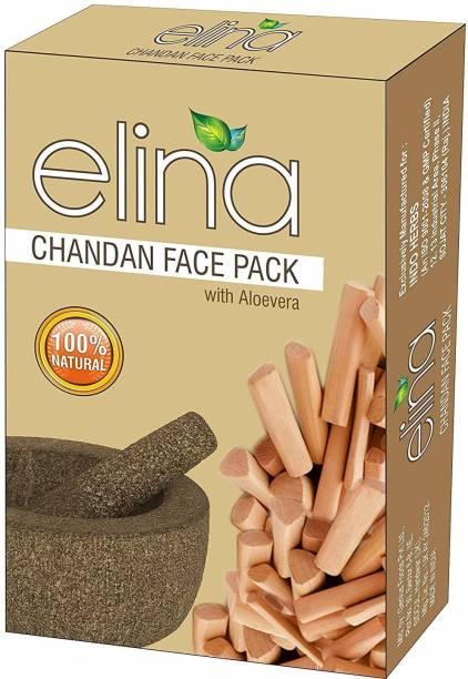 Elina Herbal SANDALWOOD Powder 100 % Natural & Pure 100g.