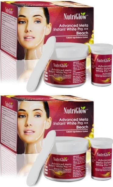 NutriGlow Meta white pro Bleach43g(Pack Of 2)