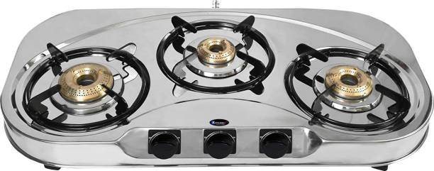 Kitchnx Stainless Steel Manual Gas Stove