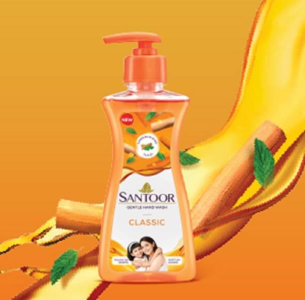 santoor new hand wash 200 ml pack of 1 pc Hand Wash Pump Dispenser