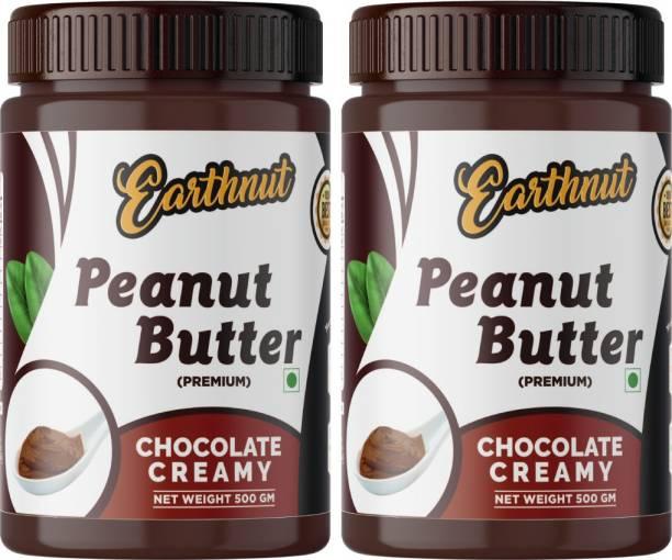 Earthnut Peanut Butter Combo Chocolate (500g + 500g) 1 kg